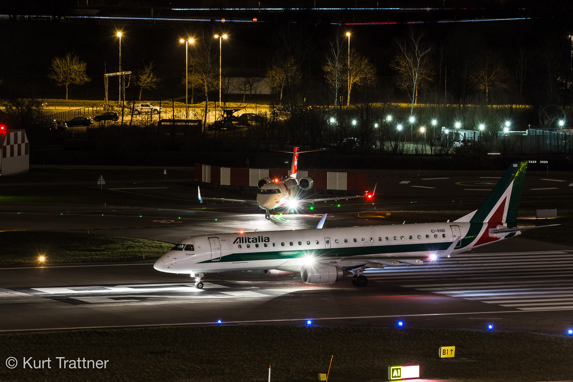 HB-JRA at LSZH on 26.01.2018
