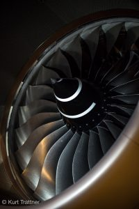 Lufthansa A350 Engine