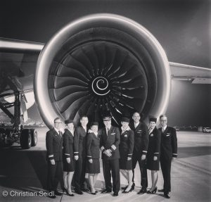 Lufthansa A350 Crew