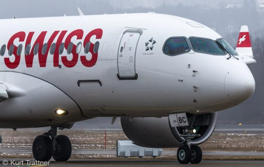 Swiss Bombardier CSeries CS100