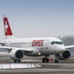 Swiss Bombardier CSeries CS100